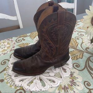 Ariat Leather Western Cowboy Boots Men's 11.5
